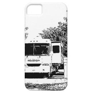 Motorhome in RV Park iPhone 5 Cover