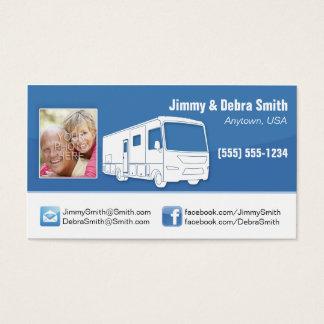 Motorhome RV Couple Cards