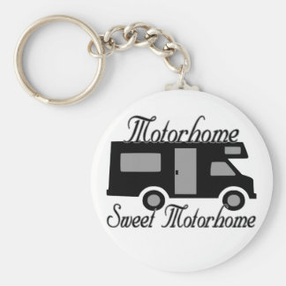 Motorhome Sweet Motorhome Key Ring