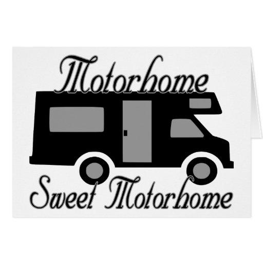 Motorhome Sweet Motorhome RV Cards