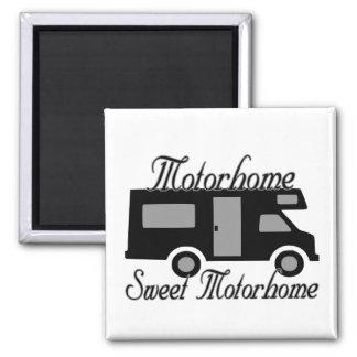 Motorhome Sweet Motorhome RV Magnet