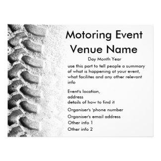 Motoring Event Flyer