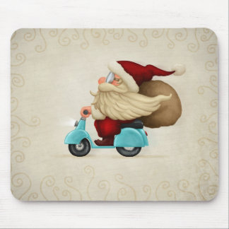 Motorized Santa Claus Mouse Mat