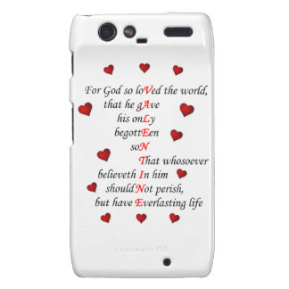 Motorola Razr Barely There Valentine Droid RAZR Case