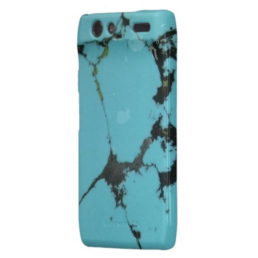 """Motorola Turquoise Barely There Case"" Droid RAZR Cover"