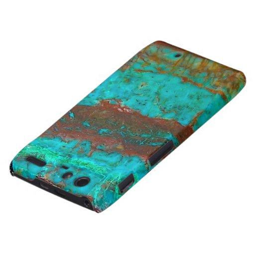"""Motorola Turquoise Barely There Case"" Motorola Droid RAZR Cover"