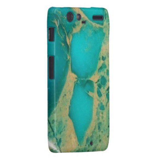 """Motorola Turquoise Barely There Case"" Droid RAZR Cases"