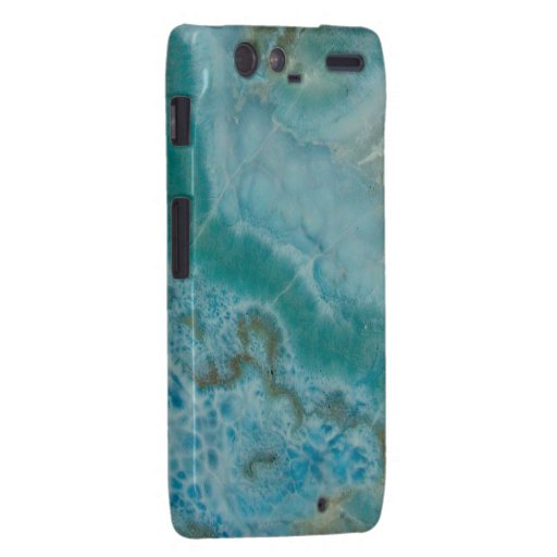 """Motorola Turquoise Barely There Case"" Motorola Droid RAZR Cases"