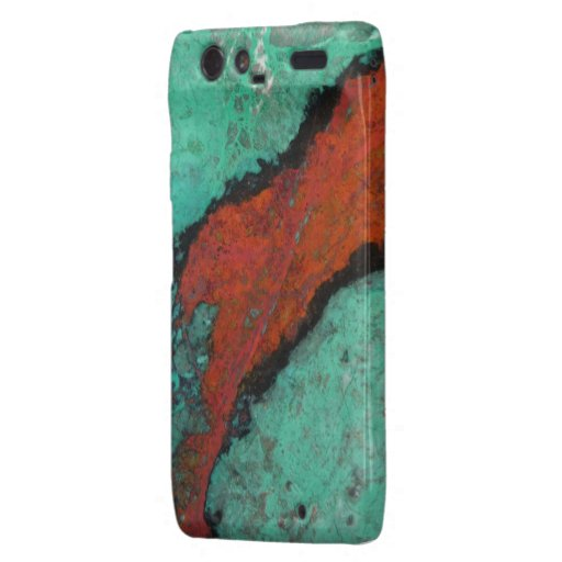 """Motorola Turquoise Barely There Case"" Droid RAZR Covers"