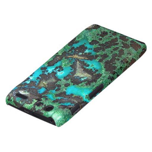 """Motorola Turquoise Barely There Case"" Motorola Droid RAZR Covers"