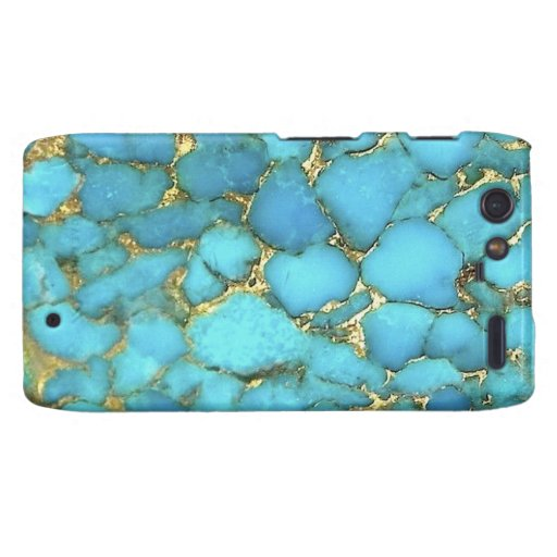 """Motorola Turquoise Barely There Case"" Droid RAZR Case"