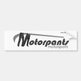Motorpants Bumpersticker Bumper Sticker