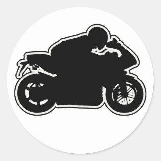 MotoVlog Plain Sticker