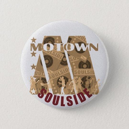motown 6 cm round badge