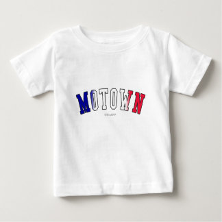 Motown in Michigan state flag colors Baby T-Shirt