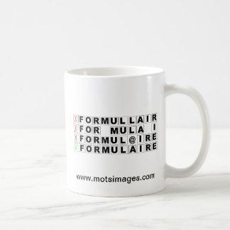 © motsimages Formulaire Mugs