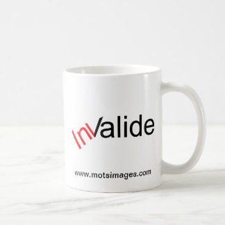 © motsimages Invalide Mugs À Café
