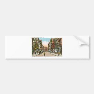 Mott Street, CHINATOWN, New York City (Vintage) Bumper Sticker