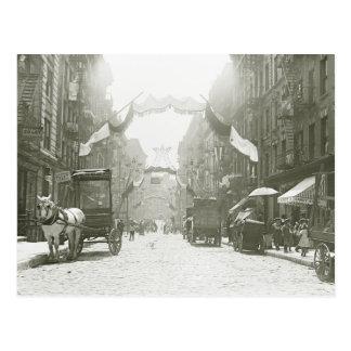 Mott Street Religious Festival 1908 Post Card