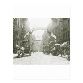 Mott Street Religious Festival, 1908 Postcards
