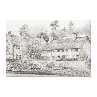 Mottistone Hall Isle of Wight UK 2008 Canvas Print