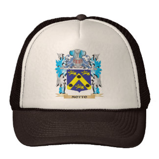 Motto Coat of Arms - Family Crest Mesh Hat