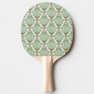 Motton Blue Pattern Ping Pong Paddle