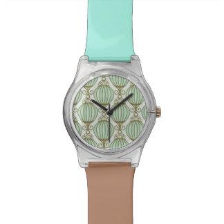 Motton Blue Pattern Watch