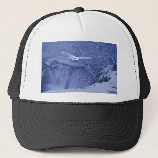 Moulton Falls Washington - Snowy Owl Spirit Trucker Hat