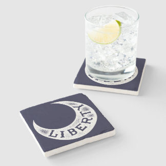 Moultrie Liberty Flag Stone Beverage Coaster