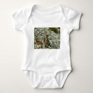 Mounain Goats In Castille Baby Bodysuit