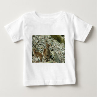 Mounain Goats In Castille Baby T-Shirt