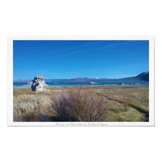 """Mounds and Mono Lake,"" Nature Photograph"