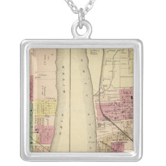 Moundsville,West Virginia Silver Plated Necklace