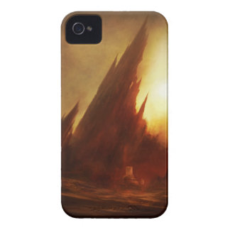 Mount Abaddon iphone 4 Case