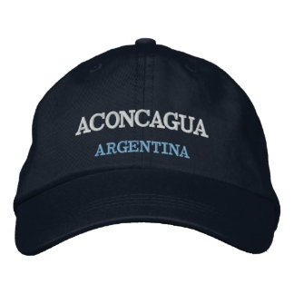 Mount Aconcagua Argentina Embroidered Hat