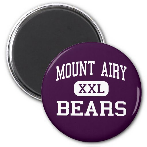 Mount Airy - Bears - High - Mount Airy Refrigerator Magnets