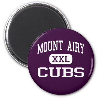 Mount Airy - Cubs - Junior - Mount Airy 6 Cm Round Magnet