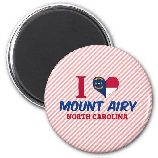 Mount Airy, North Carolina Magnets