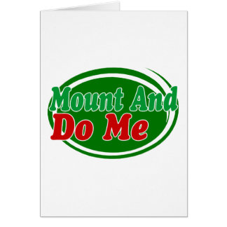 Mount And Do Card