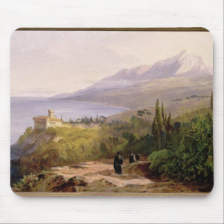 Mount Athos and the Monastery of Stavroniketes, 18 Mouse Mat