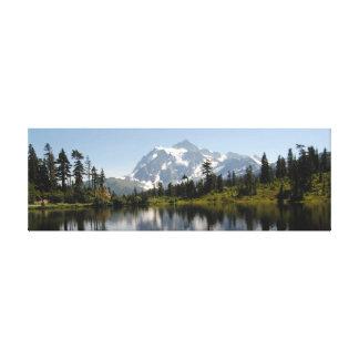 "Mount Baker Bellingham WA 36"" x 12"", 1.5"" Canvas Print"