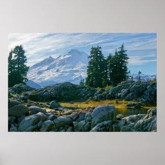 Mount Baker the sleeping giant Poster