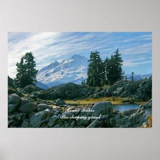 Mount Baker The sleeping giant Print