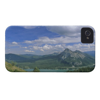 Mount Baldy and Barrier Lake in the Kananaskis iPhone 4 Case