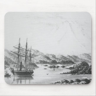 Mount Burney from the Otter Islands Mouse Mat