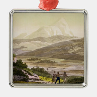 Mount Cayambe, Ecuador, from 'Le Costume Ancien et Christmas Ornament