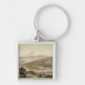 Mount Cayambe, Ecuador, from 'Le Costume Ancien et Key Ring