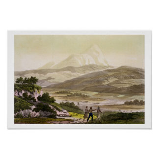 Mount Cayambe, Ecuador, from 'Le Costume Ancien et Poster