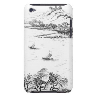 Mount Chang and Lake Chou, from 'Jardins Anglo-Chi iPod Case-Mate Cases